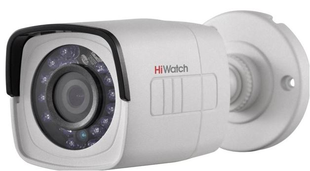 1MP HDTVI/HDCVI/AHD/analóg, HiWatch DS-T100-F