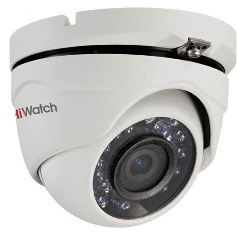 1MP kültéri HDTVI IR dome, 2.8mm, HiWatch DS-T103