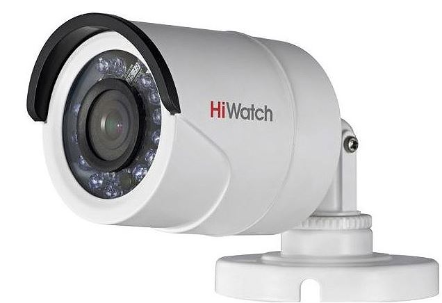 2MP HDTVI kültéri kamera, HiWatch DS-T200 (2.8mm)