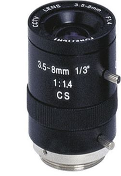 CP PLUS CP-MC358 3.5-8mm lencse
